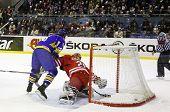 Hóquei no gelo Ucrânia vs Polónia