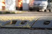 picture of retarded  - Speed bump  - JPG
