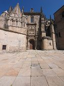 Old Cathedral In Plasencia