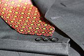 Suit Details And Tie