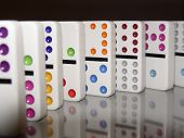 Standing Dominoes