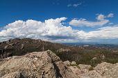 The Landscape Of Custer State Park With Black Elk Peak, Formerly Harney Peak, On The Highest Point I poster