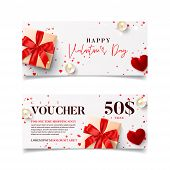Gift Voucher For Valentines Day poster