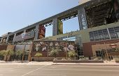 A Sunny Chase Field, Downtown Phoenix, Arizona