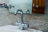 Adjustable Sink Tap Faucet. Floor Mounted Neck Tap Faucet Wash Basin Cabinet Bathroom Furniture. Cer poster