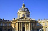 Paris, France office building of Institut de France