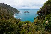 Tasman Sea at West Coast of South Island of NZ