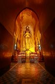 Kassapa Buddha Image, Ananda Temple