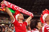 Football Fan From Poland