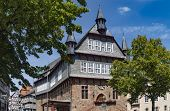 Town Hall, Fritzlar, Small Town, Historic, Tradition, Town, Germany, North Hesse, Building, Sky, Clo poster