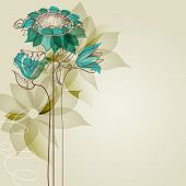 Flores de Vector