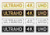 UltraHD labels