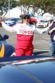 LOS ANGELES - APR 9:  Wanda Sykes at the Toyota ProCeleb Race Press Day 2013 at the Toyoto Grand Pri