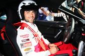 LOS ANGELES - APR 9:  Jesse Metcalfe at the Toyota ProCeleb Race Press Day 2013 at the Toyoto Grand