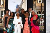 LOS ANGELES - APR 9:  Rachel Robinson, and Family of Jackie Robinson arrives at the