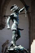Florence - Piazza della Signoria Perseus with the Head of Medusa