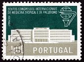 Postage Stamp Portugal 1958 Institute For Tropical Medicine