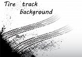 Tire track black