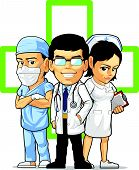Health Care or Medical Staff - Doctor, Nurse, & Surgeon