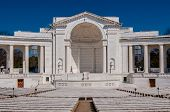pic of arlington cemetery  - View of the Memorial Amphitheater at arlington cemetery - JPG