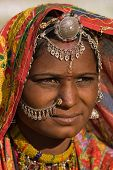 Portrait indian woman
