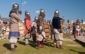 Unidentified Participants  At A Historical Reenactment Festival Held In Abalak, Siberia. Russia