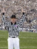 Football Referee Touchdown