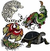 Four Feng Shui Animals