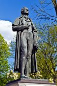 Monument To Friedrich Schiller. Kaliningrad (koenigsberg Before 1946), Russia