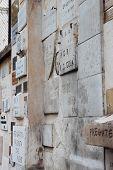 Ex- Voto In Trastevere, Rome, Italy