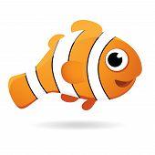 Vector Clown Fish