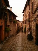 Street in Spello