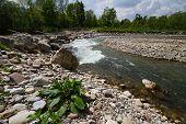 River Sora after the springtime storm