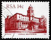 Postage Stamp South Africa 1986 Johannesburg City Hall