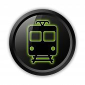 Icon/button/pictogram train / Mass Transit