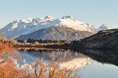 Lake Hayes At New Zealand