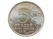 Five russian rubles