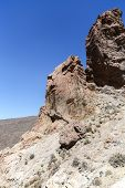 Scenery In Teide National Park In Tenerife, Spain
