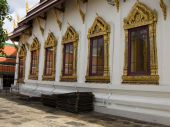 Windows Of The King Palace Thailand