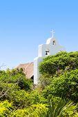 An Open-air San Francisco De Asis Chapel, Mexico