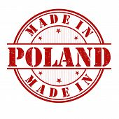 Made In Poland Stamp