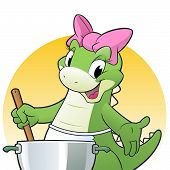 Cooking Dino