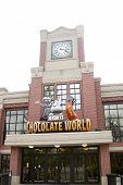 Entrance to Hershey Chocolate World