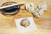 Filing Shu Mai Dumplings