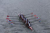 Cambridge Boat Club races in the Head of Charles Regatta