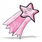 shooting star cartoon
