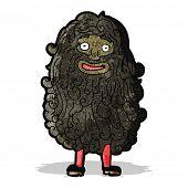 cartoon bearded man