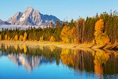 Autumn in Grand Teton NP,USA