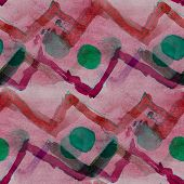 pattern seamless watercolor texture background red, green wallpa