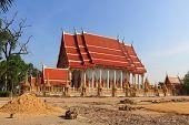 Temple at Wat Saeng Son